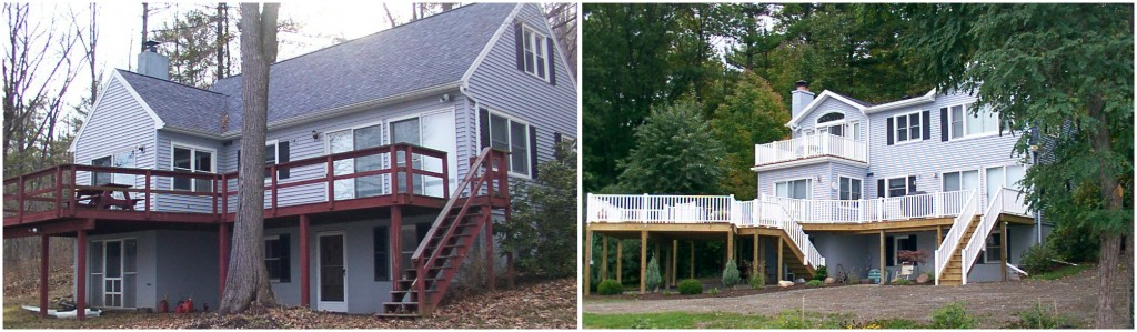 Before & After Porch Renovation and Addition